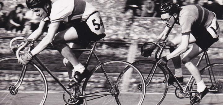 Mick winning 880yd sprint